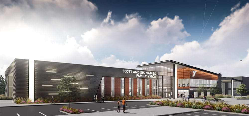 Scott and Sis Names Family YMCA